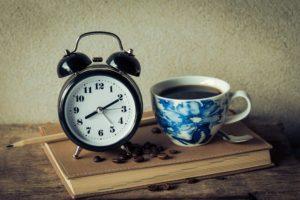 時計コーヒー